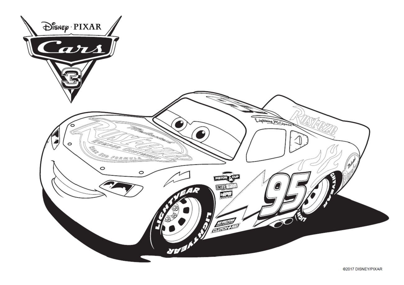Cars 3 - Coloriage cars 3 ...