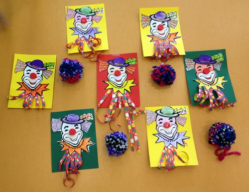 Bricolage de clowns