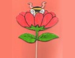 bricolage-pique-fleur-abeille