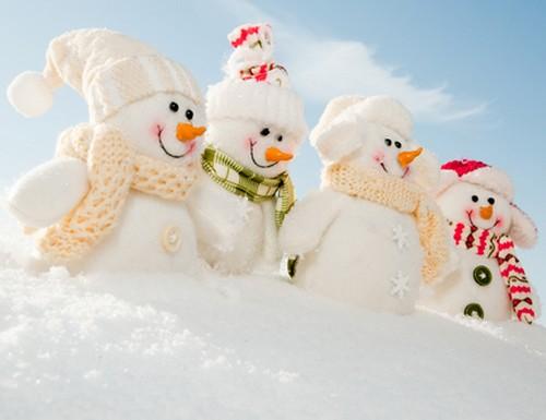 bonhommes-de-neige