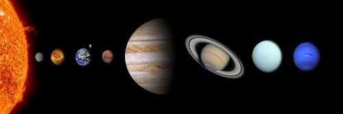 Astronomie Les Planètes De Notre Système Solaire Petitweb Lu
